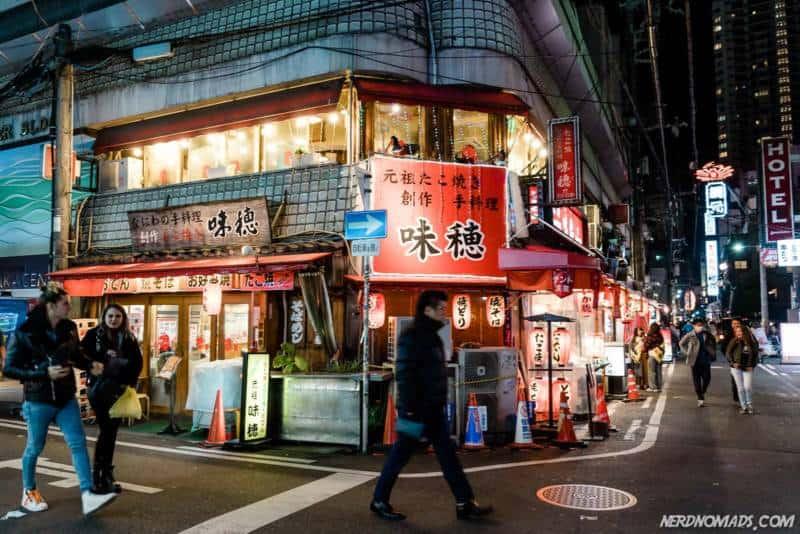 Street Amerikamura Osaka