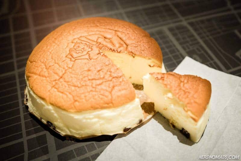 The famous Rikuro Cheesecake Osaka
