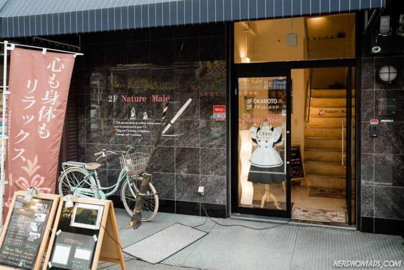 Maid Cafe, Osaka, Japan