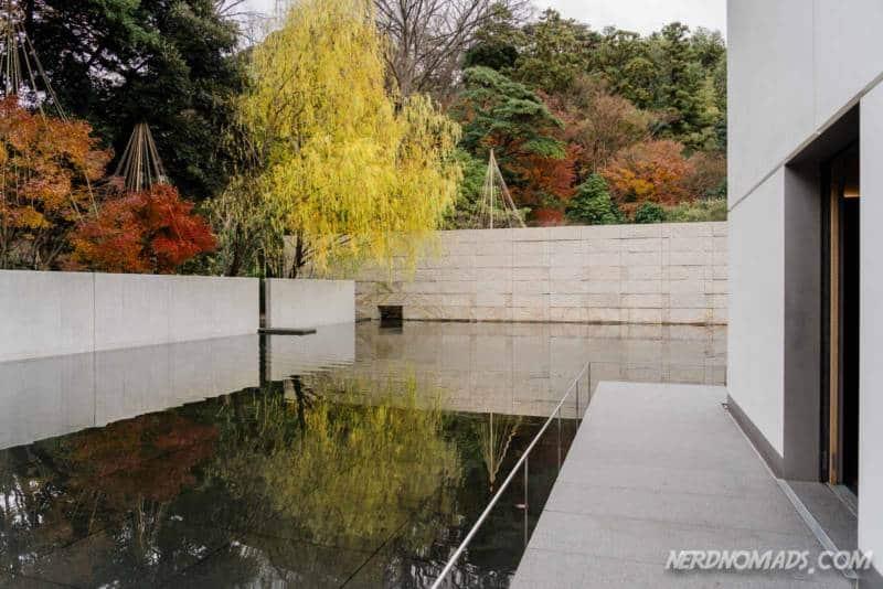 Autumn colors at D T Suzuki Museum Kanazawa