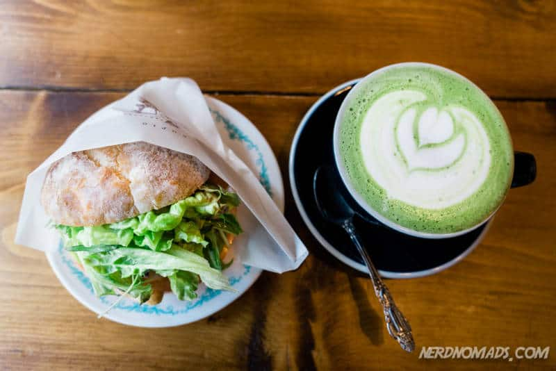 Breakfast at Curio Cafe in Kanazawa
