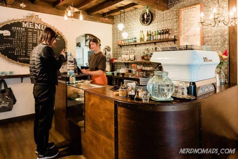 Curio Cafe in Kanazawa