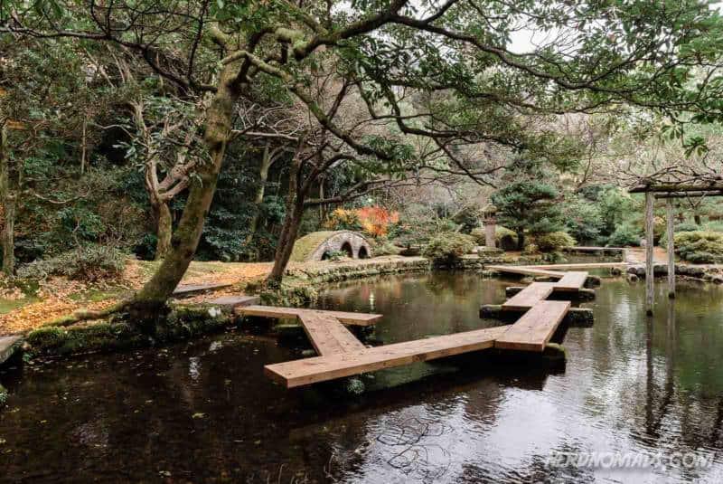 Garden Oyama Shrine Kanazawa