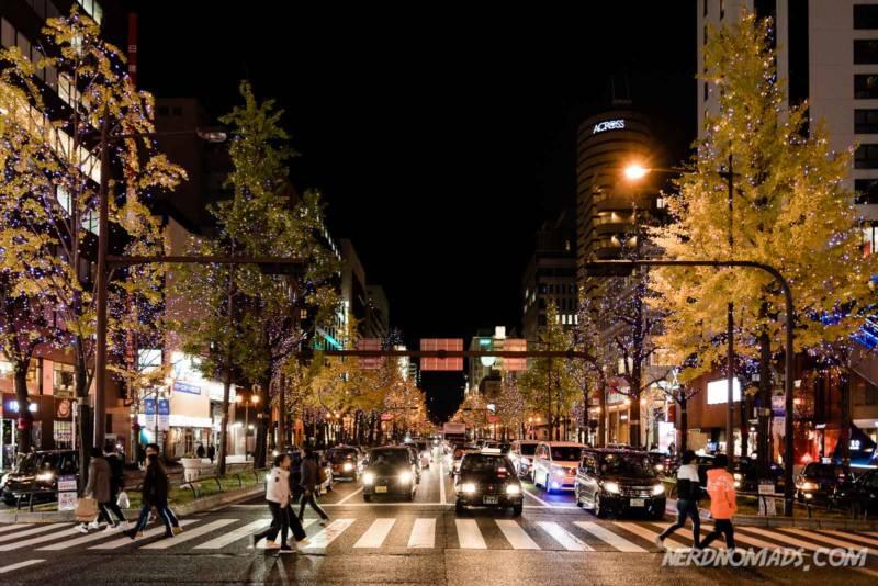 Christmas Lumination in Osaka
