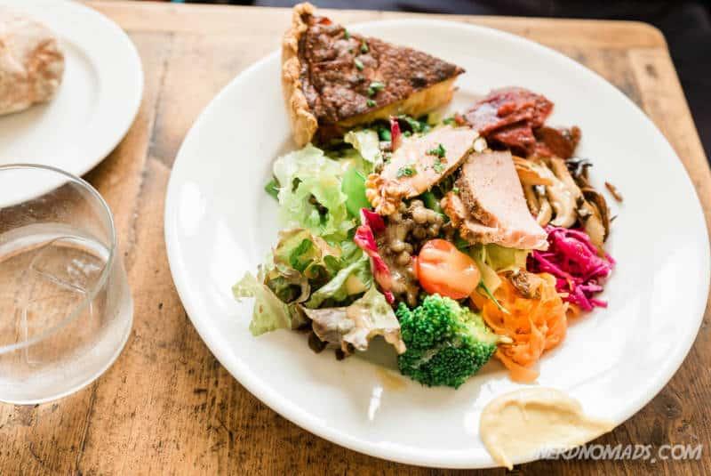 Lunch at HIrami Pan Cafe Kanazawa