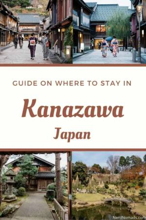 Guide on where to stay in Kanazawa, Japan