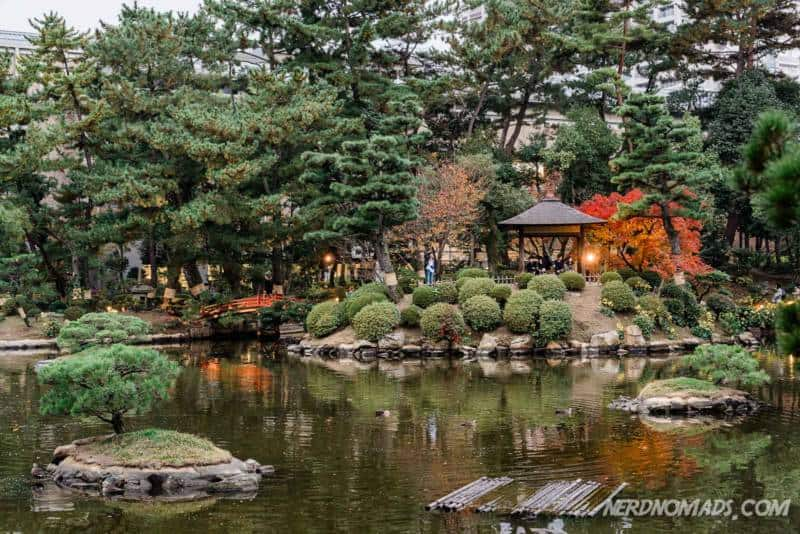 Shukkeien Garden Hiroshima Japan