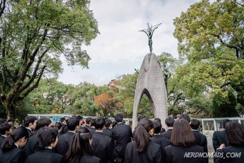 Chilrens Peace Monument Hiroshima Peace Park