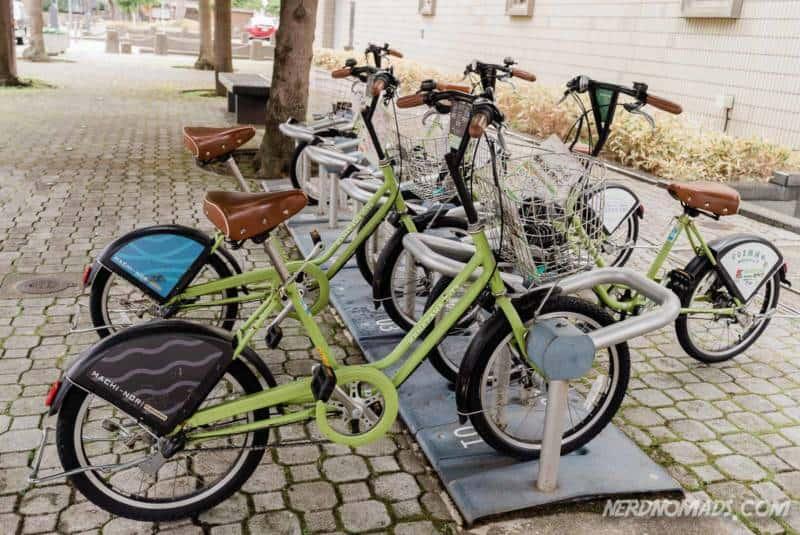 City bikes Machi Nori Kanazawa
