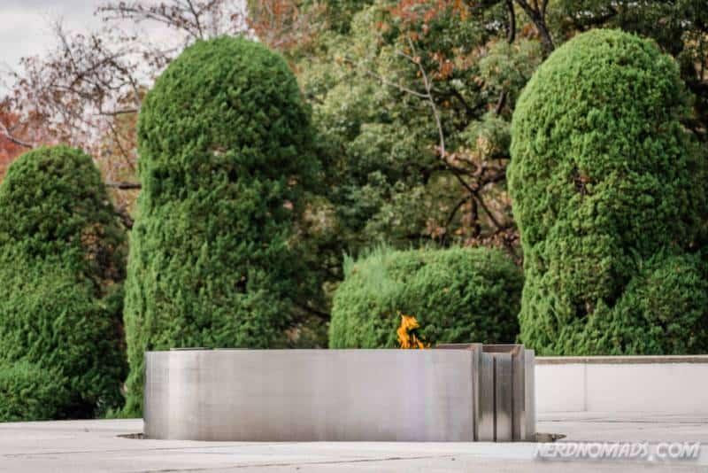 Flame of Peace Hiroshima Peace Park