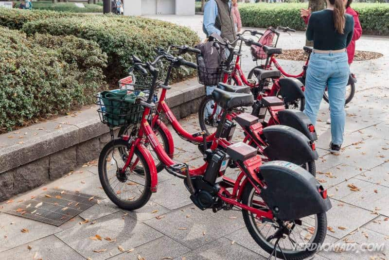 Hiroshima Docomo Bicycle Rental Citybikes