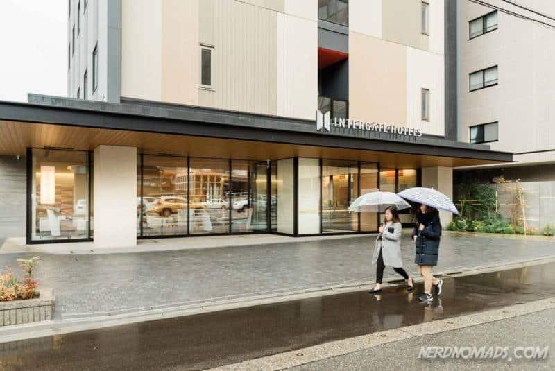 Hotel Intergate Kanazawa entrance