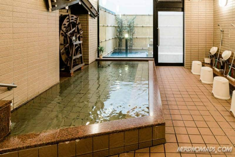 Onsen, japanese hotspring public bath