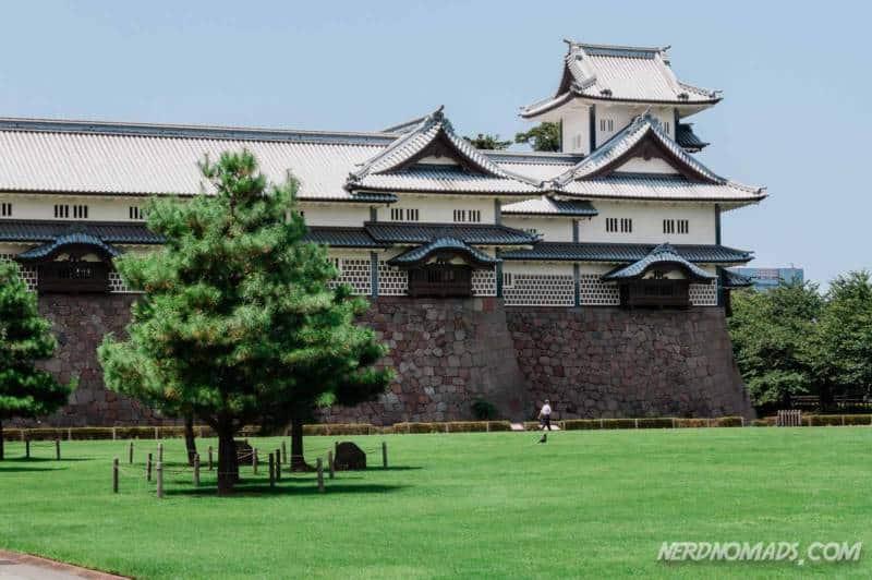 Kanazawa Castle in Kanazawa, Japan
