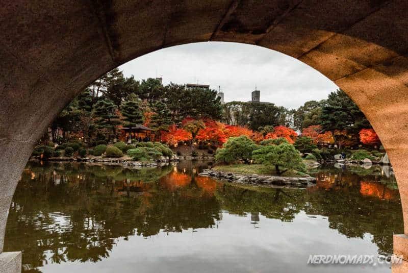 Koko-kyo Rainbow Bridge Shukkeien Garden Hiroshima Japan