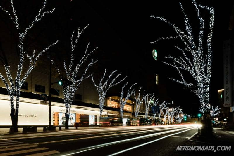 The main shopping street of Kanazawa, Korinbo
