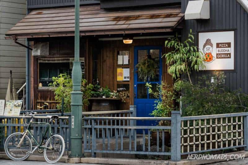 Pizza Buddha Gorilla Restaurant in Kanazawa