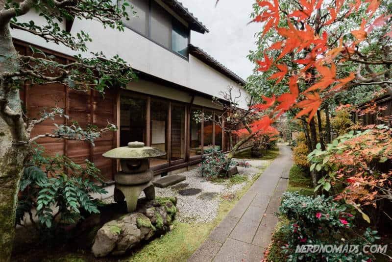 Samurai house in Nagamachi Samurai District Kanazawa