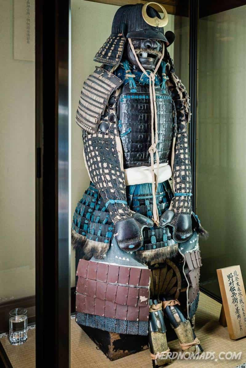 Samurai at Nomura Samurai House Kanazawa