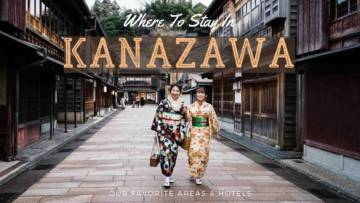 Where To Stay In Kanazawa Japan