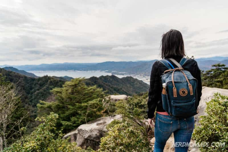 360 degree view at Mount Misen Miyajima Ropeway