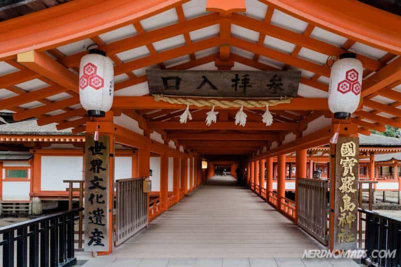 Itsukushima Shrine Miyajima Island Japan