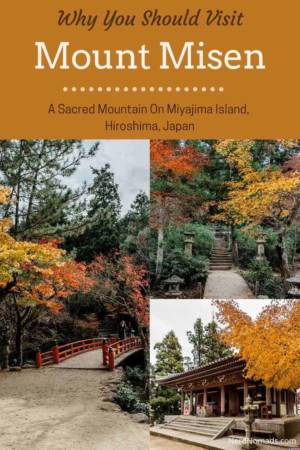 Guide To Miyajima Ropway Mount Misen Hiroshima Japan