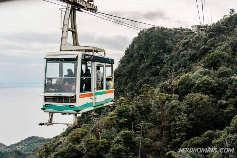 Mount Misen Miyajima Ropeway