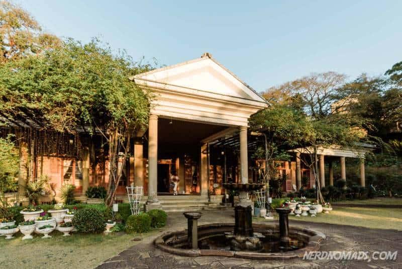 The former Alt House at Glover Garden Nagasaki