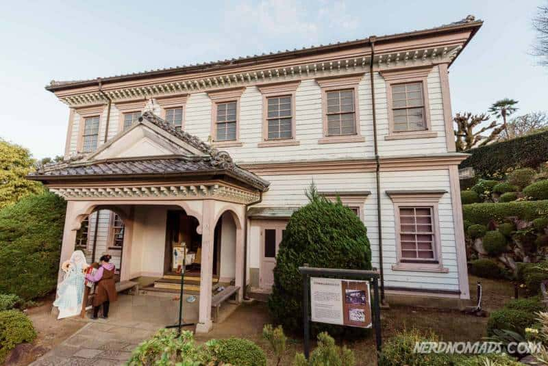 The lovely former Nagasaki District Court Building at Glover Garden Nagasaki