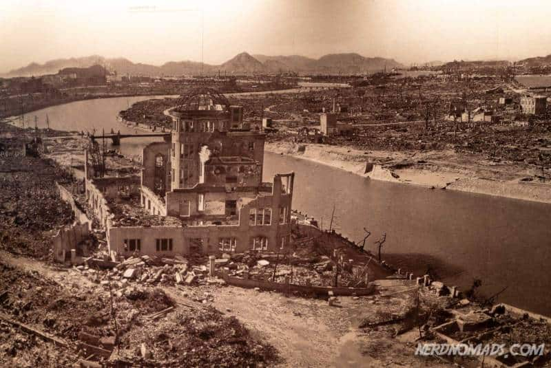 HIroshima city got wiped out by the atomic bombing in 1945