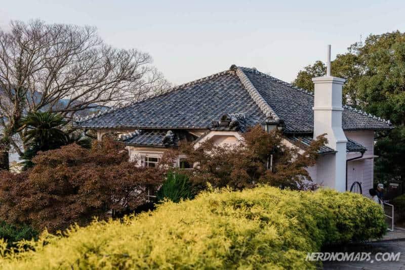 Former Walker House Glover Garden Nagasaki