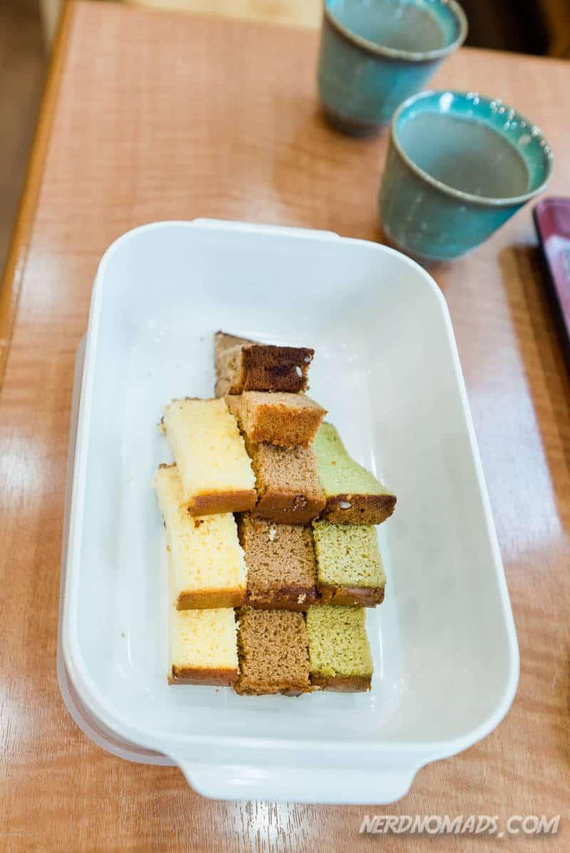 Castella cake Nagasaki