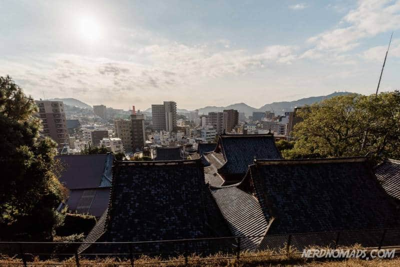 City view from Sofuku-ji Temple Nagasaki