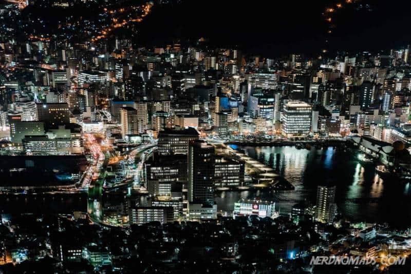 Nagasaki Ropeway Nightview Mount Inasa