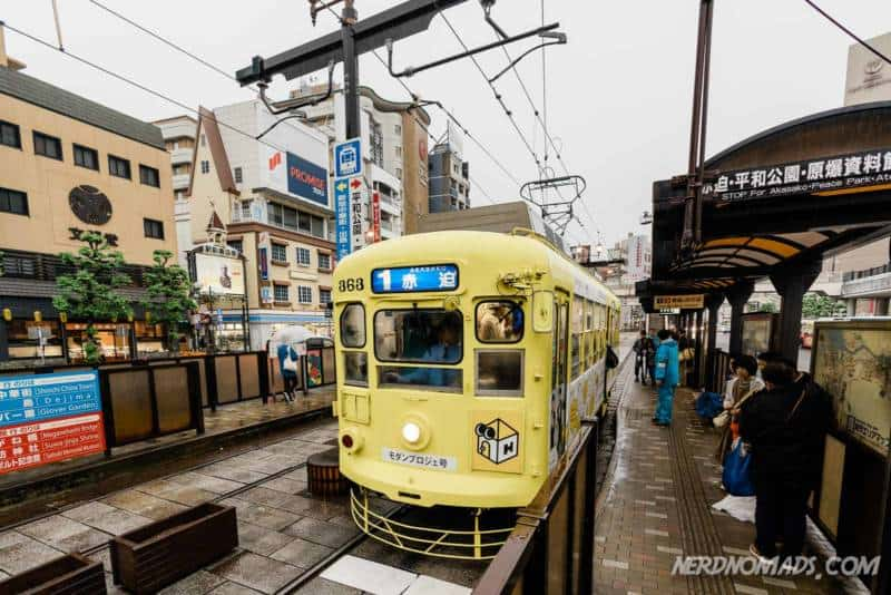 Nagasaki city tram