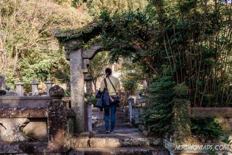 Graveyard Sofukuji Temple Nagasaki