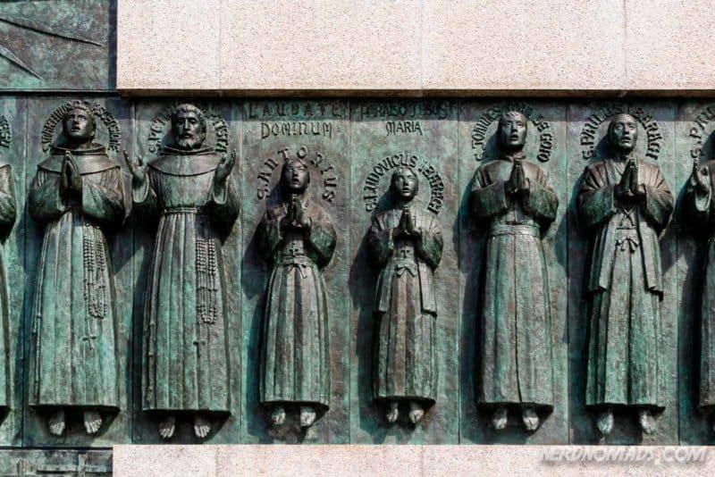 26 martyrs monument Nagasaki