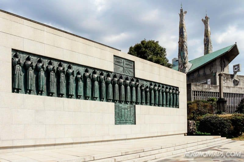 26 martyrs monument and museum Nagasaki