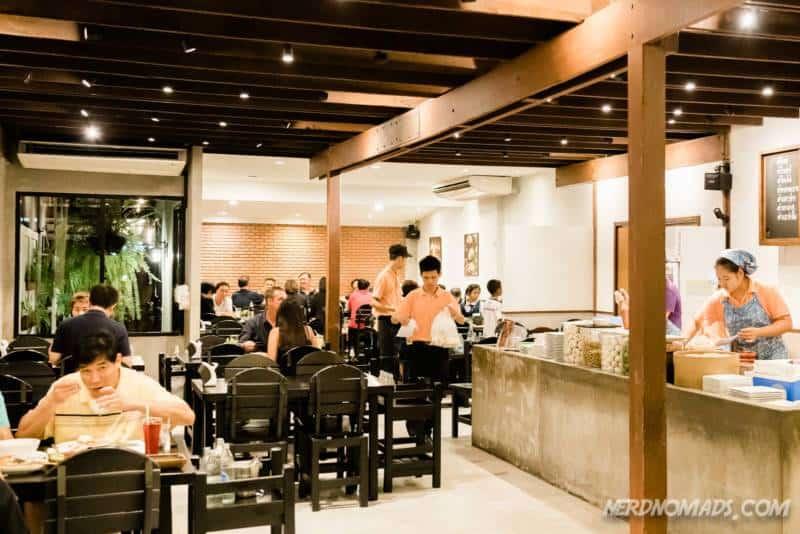 Baan Somtum Restaurant in Sathorn Bangkok