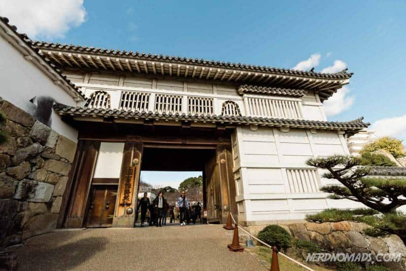 Hishi-no-mon Gate Diamond Gate Himeji Castle