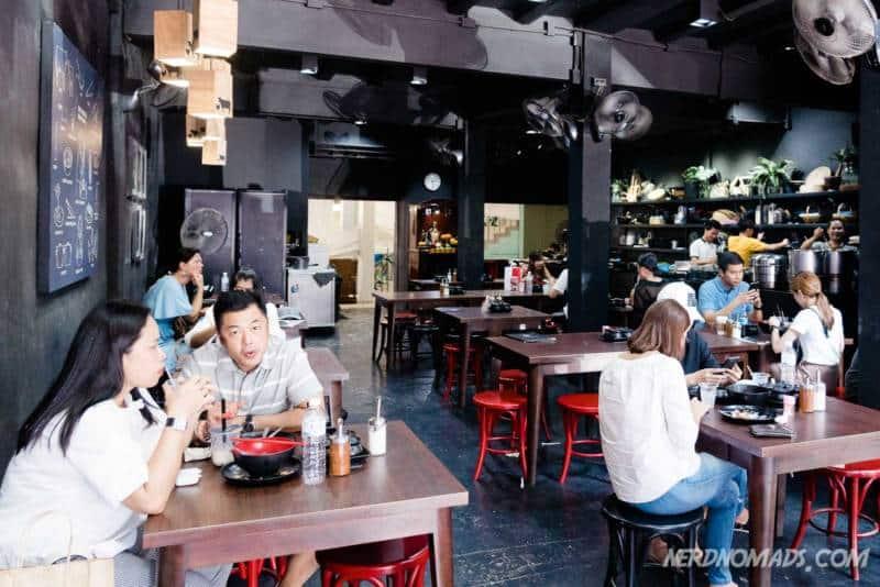 Hip and cool Jeib Roddeedet Restaurant Bangkok