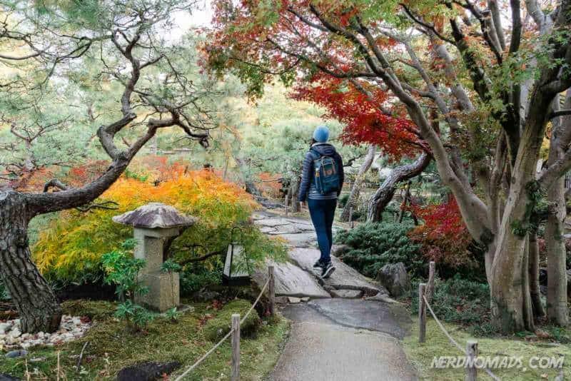 Kokoen Japanese Garden is a classic strolling garden