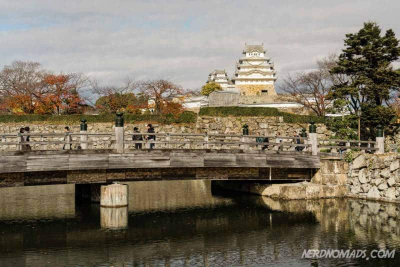 Sakuramon Bashi Bridge Himeji Castle