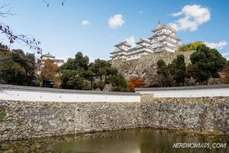 Sangoku-bori Moat/ Mikuni Pond Himeji Castle