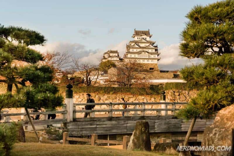 Himeji Castle in autumn