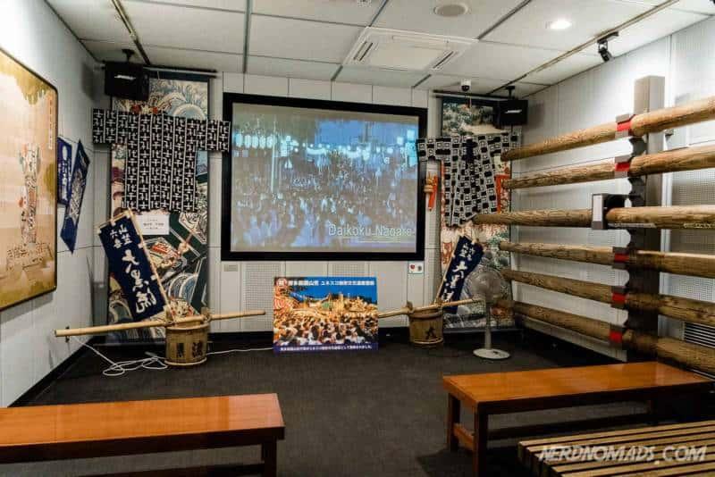 Learn about Hakata Dontaku Festival at Hakata Machiya Furusatokan Folk Museum