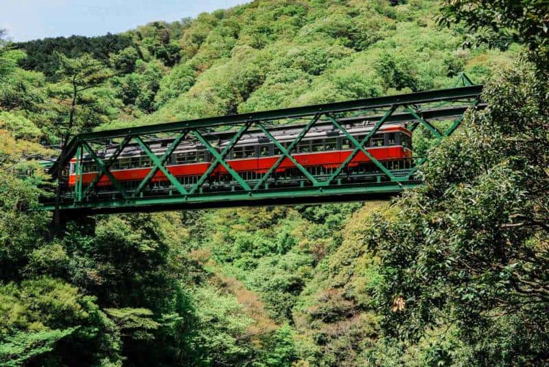 Hakone Tozan Railway Japan