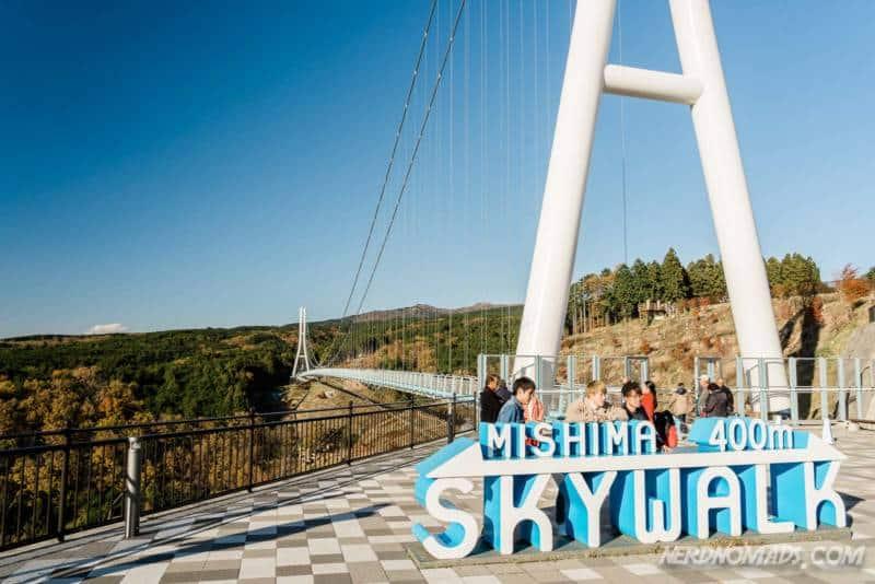 Mishima Skywalk is Japan's longest suspension bridge