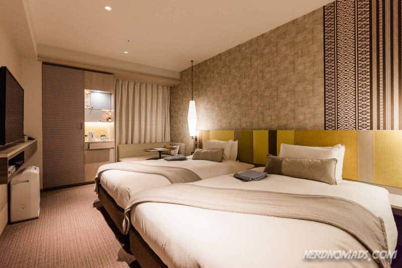 Room at Mitsui Garden hotel Fukuoka Gion